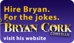 Bryan Cork, Comedian: the Website